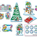 Carson Dellosa CD-110061 Bb Set Mini Winter