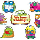Carson Dellosa CD-110139 Reading Monsters Bb Set