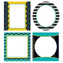 Carson Dellosa CD-120149 Black White & Bold Cut Outs