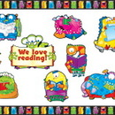 Carson Dellosa CD-144200 Monsters Bulletin Board Essentials Set