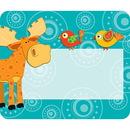 Carson Dellosa CD-150023 Moose & Friends Name Tags