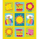 Carson Dellosa CD-168219 Hello Spring Stickers Grades Pk-5