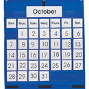 Carson Dellosa CD-5605 Pocket Chart Monthly Calendar 25 X 28