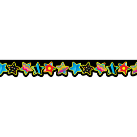 Creative Teaching Press CTP5841 Poppin Patterns Stars Border, Price/EA