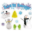 Edupress EP-3600 Let It Snow Mini Bulletin Board Set