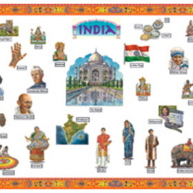 Edupress EP2239 India Bulletin Board, Price/EA
