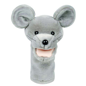 Get Ready Kids MTB204 Plushpups Hand Puppet Mouse, Price/EA