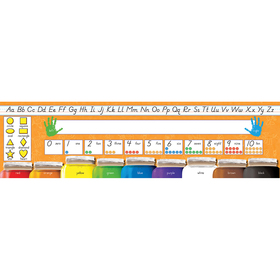 North Star Teacher Resource NST9024 Desk Plates Modern Manuscript Beginner, Price/PK