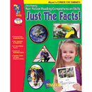On The Mark Press OTM14288 Just The Facts Gr 1-3 Developing - Non Fiction Reading Comp Skills