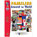 On The Mark Press OTM823 Families Around The World Gr 4-6