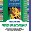 Pacon PAC103600 Riverside 9X12 Blue 50 Sht Construction Paper