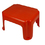 Romanoff Products ROM90802 Jr Step Stool Red 12.25X10.25X7