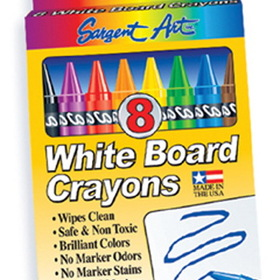 Sargent Art SAR350522 White Board Crayons Lrg, Price/EA