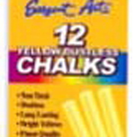 Sargent Art SAR662014 Sargent School Gr Dustless Chalk Yellow, Price/EA
