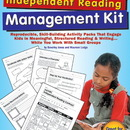 Scholastic Teaching Resources SC-0439365910 Ready-To-Use Independent Reading Management Kit Gr 4-6