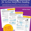 Scholastic Teaching Resources SC-528819 Text Marking Lessons For Active Non Fiction Reading Gr 4-8