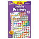 Trend Enterprises T-1945 Superspots Stickers Positive 2500Pk Praise