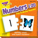 Trend Enterprises T-36003 Puzzle Numbers 1 20