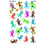 Trend Enterprises T-46335 Sock Monkeys Supershapes Stickers - Large