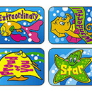 Trend Enterprises T-47099 Applause Stickers Fun Fish