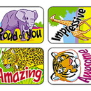 Trend Enterprises T-47112 Applause Stickers Awesome Animals