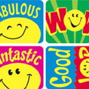 Trend Enterprises T-47157 Applause Stickers Smiley Faces