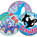 Trend Enterprises T-6416 Stinky Stickers Sea Animals 60/Pk Acid-Free Blueberry