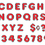 Trend Enterprises T-79050 Red 4In Colorful Chrome Ready Letters