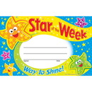 Trend Enterprises T-81041 Star Of The Week Way To Shine Recognition Awards