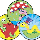 Trend Enterprises T-83426 Stinky Stickers Wiggly Worms