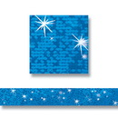 Trend Enterprises T-85402 Blue Sparkle Bolder Borders