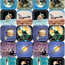 Teacher Created Resources TCR1801 Space Thematic Stickers