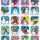 Teacher Created Resources TCR1804 Stickers Winter