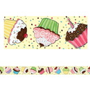 Teacher Created Resources TCR4083 Sw Cupcake Straight Border Trim