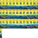 Teacher Created Resources TCR4492 Wy 0-100 Number Line Headliners