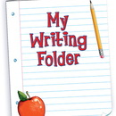 Teacher Created Resources TCR4944 My Writing Folder Pocket Folder