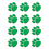 Teacher Created Resources TCR5121 Green Paw Prints Mini Accents