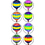 Teacher Created Resources TCR5271 Hot Air Balloons Mini Stickers