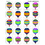 Teacher Created Resources TCR5339 Hot Air Balloons Stickers