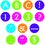 Teacher Created Resources TCR75401 Sassy Circle Letters