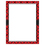 Teacher Created Resources TCR7548 Red Plaid Blank Chart