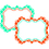 Teacher Created Resources TCR77113 Wild Moroccan Labels Orange & Teal