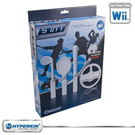 Hyperkin Nintendo Wii 5-in-1 Soft Foam Sports Kit
