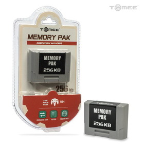 DDR Game Nintendo 64 N64 Performance 256KB Memory Card
