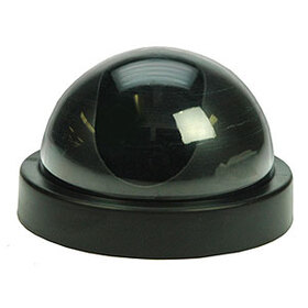 Cutting Edge Dome Dummy Camera with Flashing LED Light DDCL