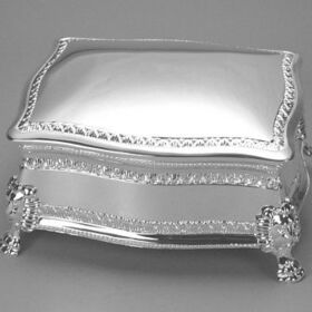 Figaro Hinged Jewelry Box, 500006