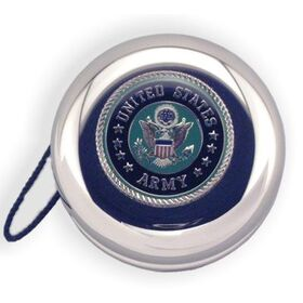 Army Insignia - Nickel Plated YoYo, 500659