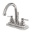 """Elements of Design ES8661EL Two Handle 4"""" Centerset Lavatory Faucet with Brass Pop-up, Polished Chrome Finish"""