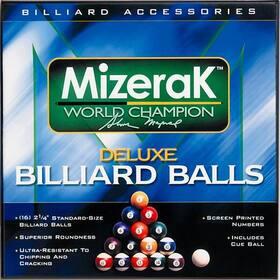 Mizerak P0512 Deluxe Billiard Balls