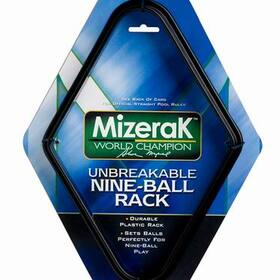 Mizerak P0854 Plastic Billiard Nine Ball Rack